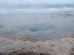 Iceland Geyser steam