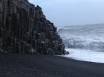 Cliff on Black Sand Beach
