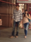 Blury Couple