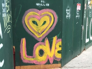 Love Is The Way! Hell's Kitchen, NYC